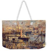 Grand Quai At Havre Weekender Tote Bag