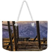 Grand Teton Framed Weekender Tote Bag