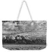 Grand Teton Majesty Weekender Tote Bag by Sandra Bronstein