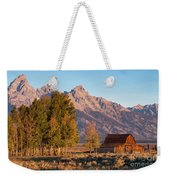 Grand Teton Mountain View Weekender Tote Bag