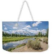 Grand Teton View No.1 Weekender Tote Bag by Margaret Pitcher