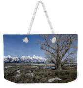 Grand Tetons From Gros Ventre Weekender Tote Bag