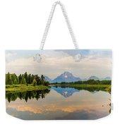 Grand Teton's Reflection Weekender Tote Bag