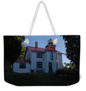 Grand Traverse Light House Weekender Tote Bag