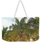Grand Turk Palms On The Beach Weekender Tote Bag