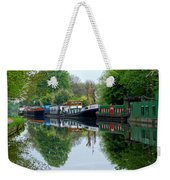 Grand Union Canal Cowley West London Weekender Tote Bag