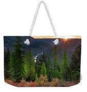 Grande Ronde Sunrise Weekender Tote Bag