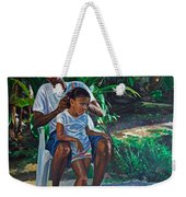 Grandfather And Child Weekender Tote Bag