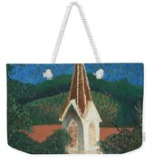 Grandmas Church Weekender Tote Bag