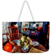 Grandma's Kitchen Weekender Tote Bag