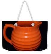 Grandmas Orange Juice Pitcher Weekender Tote Bag