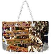 Grandma's Place Get Spoiled Here Weekender Tote Bag