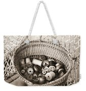 Grandma's Sewing Basket Weekender Tote Bag