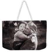 Grandmother And Child Weekender Tote Bag