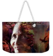 Grandmother Crow Weekender Tote Bag