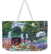 Grandmother's Garden Flowers Weekender Tote Bag