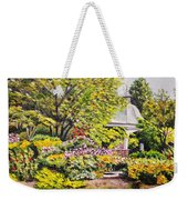 Grandmother's Garden Weekender Tote Bag