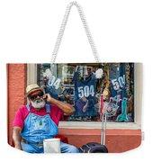 Grandpa Elliott Small Weekender Tote Bag