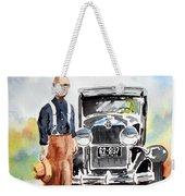 Grandpa's Chevy Weekender Tote Bag