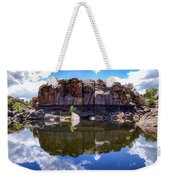 Granite Dells Reflection Weekender Tote Bag