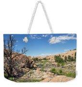 Granite Dells Rocky Terrain  Weekender Tote Bag