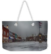 Granite Falls Snow Weekender Tote Bag