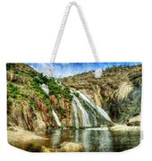 Granite Mountain Waterfall - Vintage Version Weekender Tote Bag