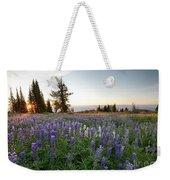 Granite Mountains Sunrise Weekender Tote Bag