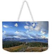 Granite Park - Glacier National Park Weekender Tote Bag