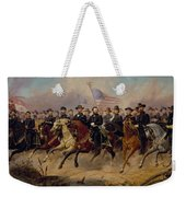 Grant And His Generals Weekender Tote Bag by War Is Hell Store