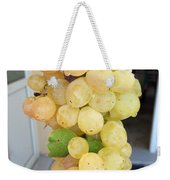Grape From Chios Mountains In Greece Weekender Tote Bag