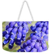Grape Hyacinth Closeup Weekender Tote Bag