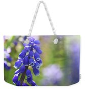 Grape Hyacinth II Weekender Tote Bag