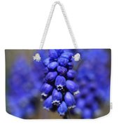 Grape Hyacinth - Muscari Weekender Tote Bag
