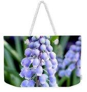 Grape Hyacinths Closeup Weekender Tote Bag