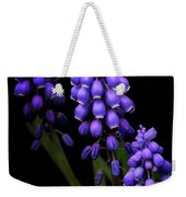 Grape Hyacinths Weekender Tote Bag