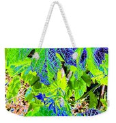 Grape Leaves Weekender Tote Bag