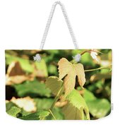 Grape Vine 3 Weekender Tote Bag