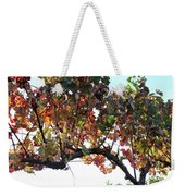 Grape Vine In Autumn Weekender Tote Bag