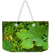 Grape Vine Heavy With Green Grapes Weekender Tote Bag