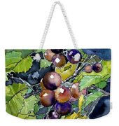 Grape Vine Still Life Weekender Tote Bag