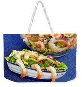 Grapefruit And Shrimp Salad Weekender Tote Bag