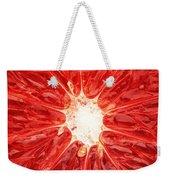 Grapefruit Close-up Weekender Tote Bag