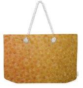 Grapefruit Skin Weekender Tote Bag