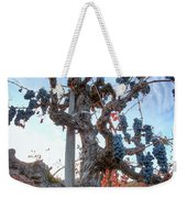 Grapes Aloft Weekender Tote Bag