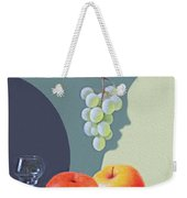 Grapes And Apples Weekender Tote Bag