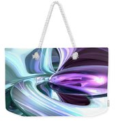 Grapes And Cream Abstract Weekender Tote Bag