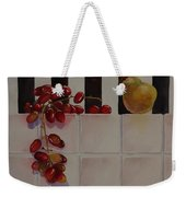 Grapes And Pear Weekender Tote Bag