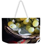 Grapes And Tomatoes Weekender Tote Bag