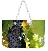 Grapes Weekender Tote Bag by Nancy Ingersoll